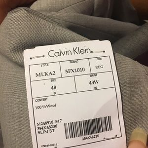 Calvin Klein Dress Suits